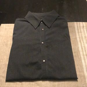 Armani Exchange Men's Pin Stripped Shirt